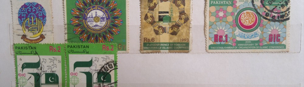 Stamps commemorating  OIC