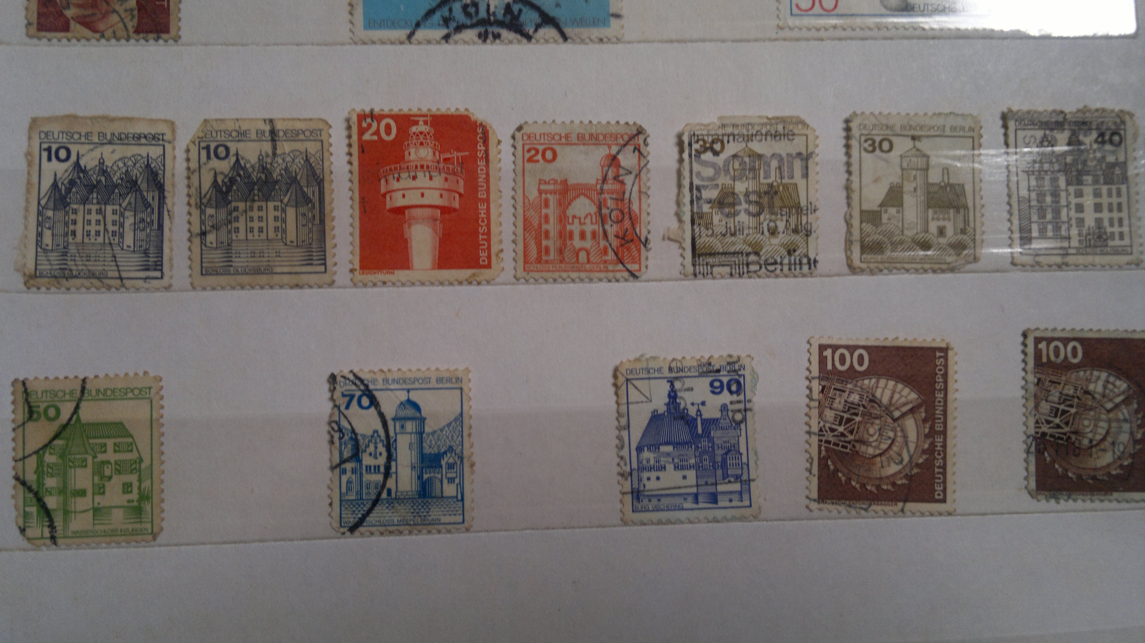 few stamps of Germany
