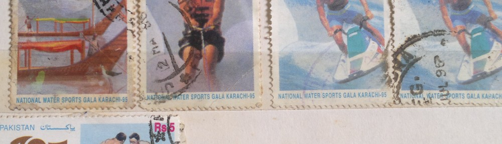 Pakistani Stamps featuring Games and Sports