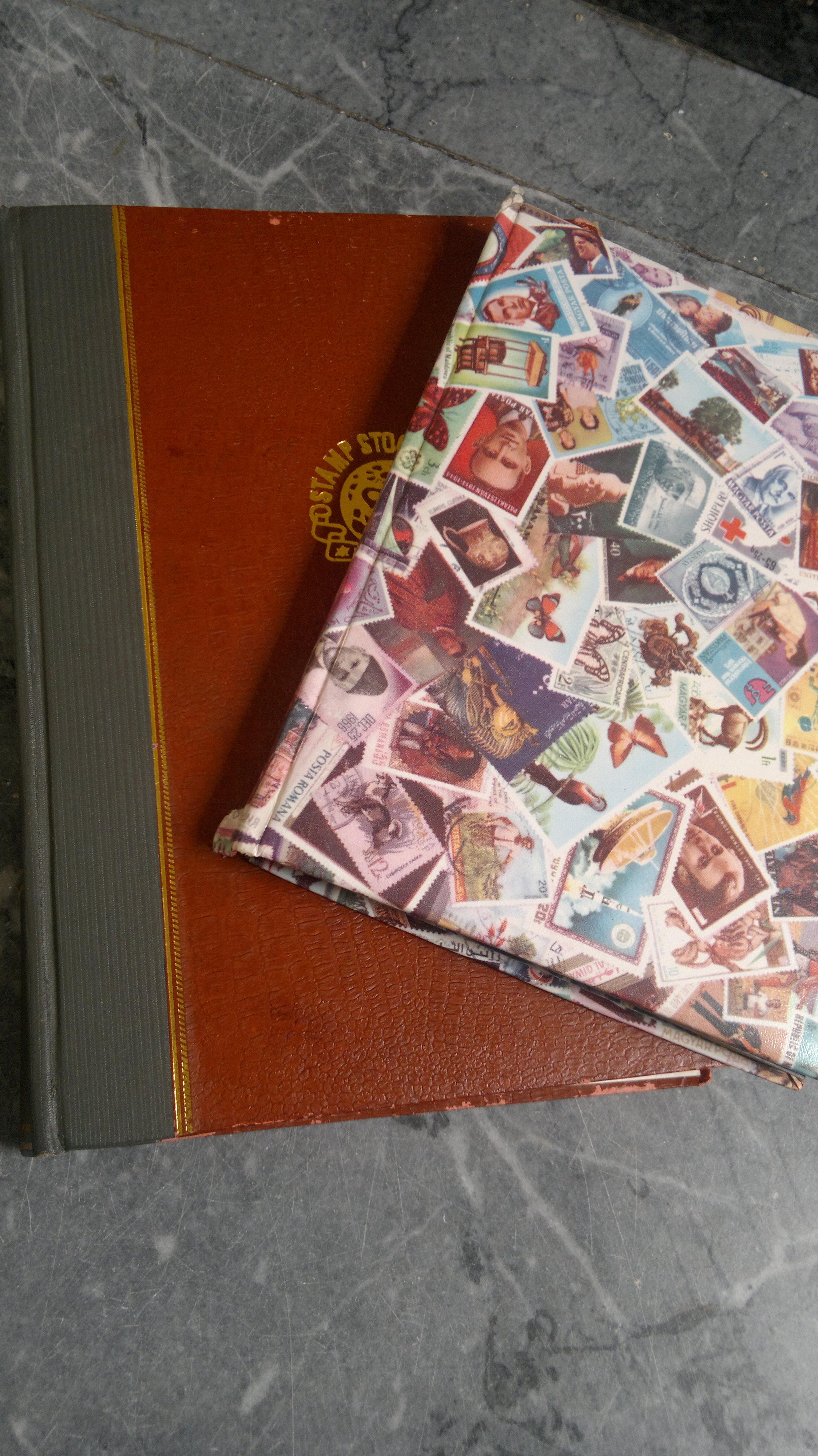 Stamp Stock Books