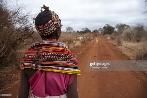 نوجوان گلہ بان۔ کینیا (gettyimages)